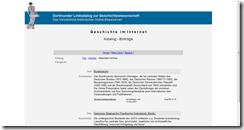 "Screenshot ""Geschichte im Internet"""