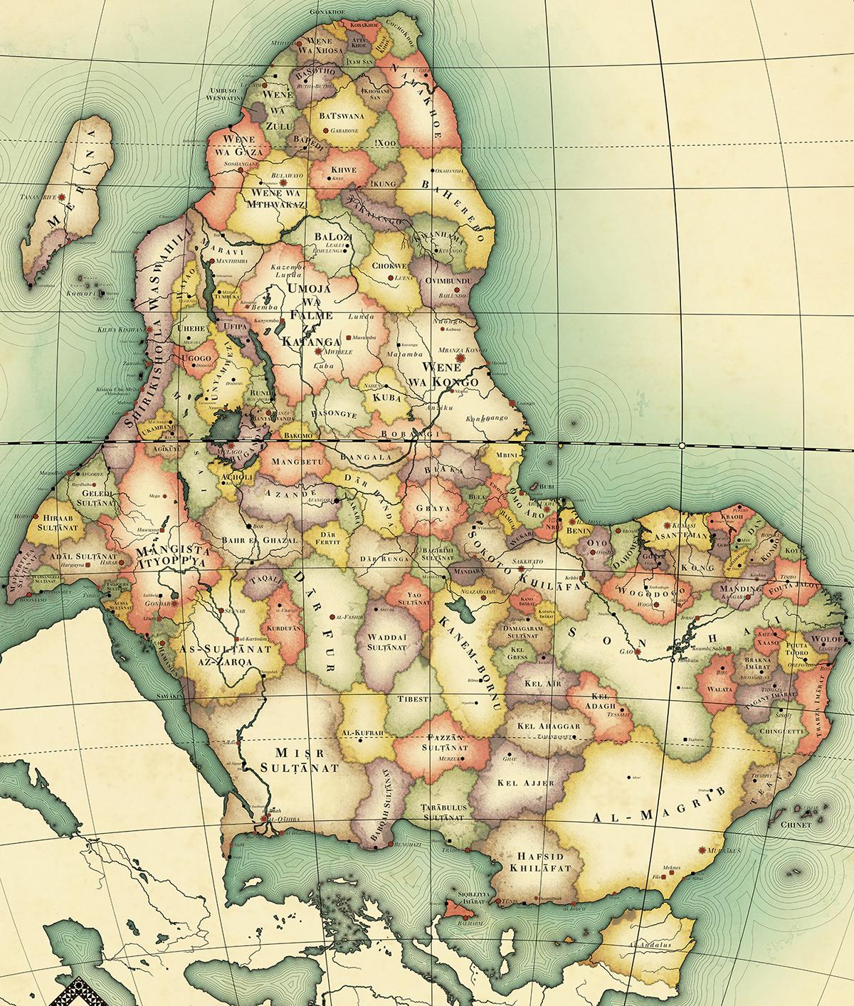 Kontrafaktisches Afrika