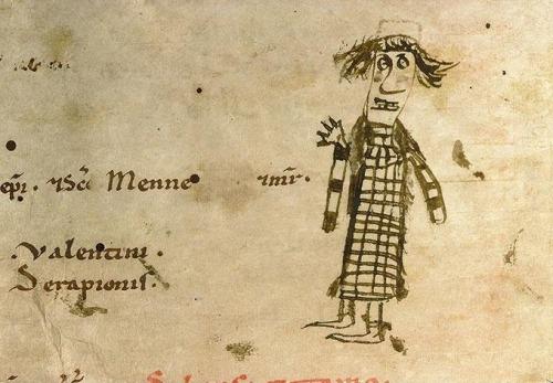 Kritzeleien in Mittelalterlichen Handschriften